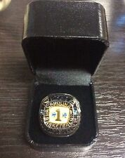2013 UPPER DECK MICHAEL JORDAN MASTER COLLECTION UNC CHAMPIONSHIP REPLICA RING