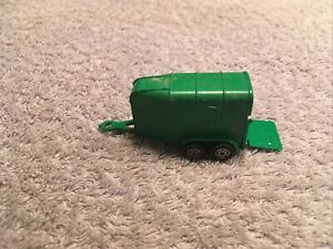 Corgi Juniors Whizzwheels Rice Horsebox Trailer - Green