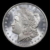 1885-o Morgan Dollar $1  * GEM BU * UNC PROOFLIKE * Possible DMPL * DEEP MIRRORS