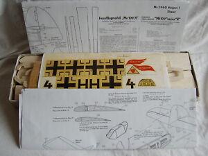 Graupner ME 109 Fesselflug Bausatz Repro