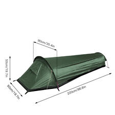 One Person Tent For Hiking and Hunting Very Light Weight for Backpacks.