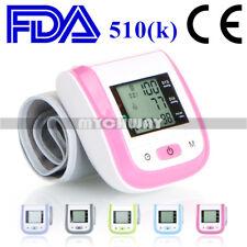 Automatic High Blood Pressure Digital Wrist LCD Monitor Heart Rate Detector MINI