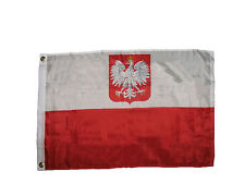 2x3 Poland Eagle Polish Old Polska Flag 2'x3' House Banner Brass Grommets