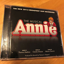 ANNIE The Musical 2012 Broadway Cast Recording BRAND NEW SEALED CD Bonus Tracks!