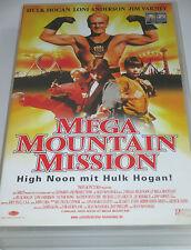 Mega Mountain Mission - VHS/Action/Hulk Hogan/Jim Varney/Loni Anderson/Columbia