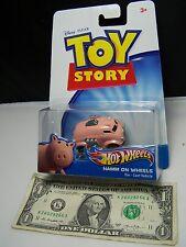 Hot Wheels Toy Story - Pink Hamm on Wheels  - 2010