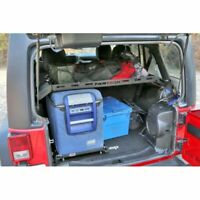 Fabtech FTS24194 Interior Cargo Rack 150lbs Capacity for 2007-2018 Jeep JK 4WD