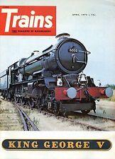 Trains Magazine April 1973 King George V