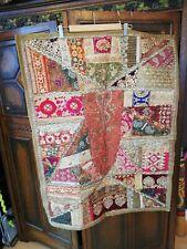 Thai Indian Moroccan Table runner/Mat/Wall Hanging Muriel Hippie Boho patchwork