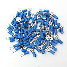 100Pcs Female Male Electrical & Wiring Connector Insulated Crimp Terminal Spade