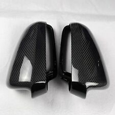 for Audi A4 S4 02-08 B6 B7 car mirror cover carbon fiber surface Replacement