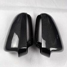 for Audi A4 B6 car mirror cover cap ABS + carbon fiber Replacement