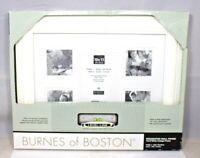 Burnes of Boston - 10 x 13 White Collage Decorative Photo Frame w/Level Line New