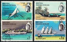 BRITISH INDIAN OCEAN TERRITORY, SG32-35, SHIPS OF THE ISLANDS SET, FINE USED.