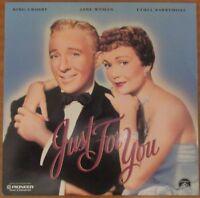 Just For You (1952) - USA Pioneer Laserdisc - Bing Crosby, Jane Wyman