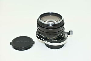 【Near MINT 】 Nikon PC Nikkor 35mm f/3.5 Manual Lens Nippon Kogaku from JAPAN