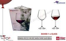 BORMIOLI ROCCO VINI DOC BAROLO CRYSTAL WINE GLASS HUGE 820 mls BNIB