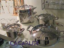 Lagostina Batterie Ustensiles de cuisine 5 Pcs Académie Lagofusion -Nouvelles'-
