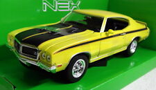 Nex Models 1/24 Scale 22433W 1970 Buick GSX Yellow Diecast model car