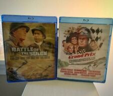 Battle of the Bulge and Grand Prix Blu-Ray Combo NEW! SEALED! DEAL OF THE WEEK!