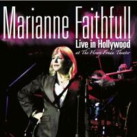 MARIANNE FAITHFULL - LIVE IN HOLLYWOOD (LIMITED CD EDITION)   CD NEW