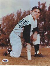 Yogi Berra New York Yankees Autographed Signed 8x10 Photo  PSA/DNA COA