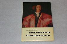 Malarstwo Cinquecenta - Maria Rzepińska - Polish Book