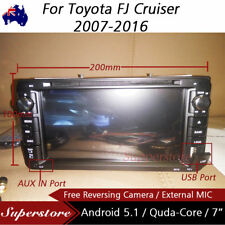 "7"" Android Quad Core Car DVD GPS For Toyota FJ Cruiser 2007-2016"