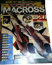 JAPAN ARTBOOK MACROSS CHRONICLE VOL 20 ShoPro MACROSS PLUS ISAMU YF19 1ST RUN