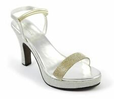 Wedge Party Peep Toes Synthetic Heels for Women