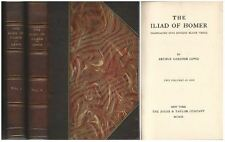 The Iliad of Homer Translated Into English by Arthur Gardner Lewis 2 Vol. Set