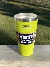 Yeti Chartreuse 26oz Rambler Stackable Cup New Sold Out Online