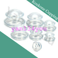Silicone Cupping Therapy Sets Cellulite Vacuum Massage Suction Cups Massager Kit
