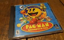 Pac Man Adventures in Time PC Game CD ROM Video Game