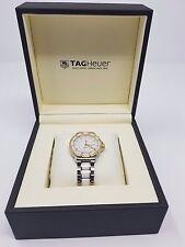 Ladies Tag Heuer Formula 1 WAH1221 Steel & Ceramic Diamond Watch Receipts + Box