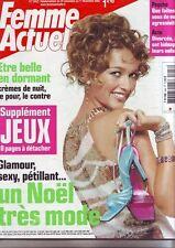 FEMME ACTUELLE De decembre 2002  - No  948