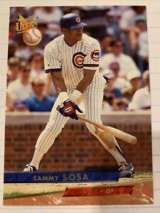 1993 Fleer Ultra Sammy Sosa #24 Chicago Cubs