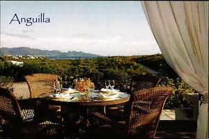 Postcard  6 -  ANGUILLA - Caribbian - Little Butterfly - British West Indies