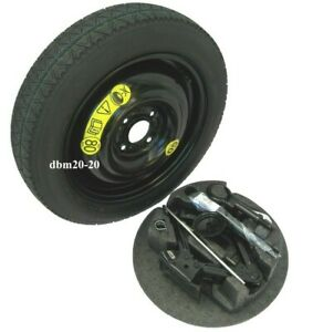 """FORD FIESTA MK7 SPACE SAVER 15"""" SPARE WHEEL WITH JACK TOOL KIT"""