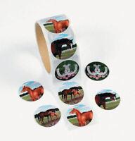 50 Horse Pony Stickers Teacher Supply Party Favors Farm Barn Western Theme