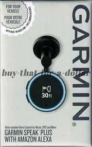 *NEW* Garmin Speak Plus With Amazon Alexa-Built In Dash Cam-Camera-GPS-Music