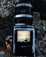 Hasselblad 180mm F2.8 Zeiss Jena Sonnar V-series F mount, caps, hood, 203 FE