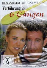 DVD NEU/OVP - Verführung in 6 Gängen - Heio von Stetten & Tina Ruland