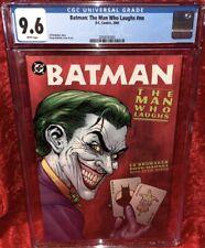 Batman: The Man Who Laughs #nn CGC 9.6 (2005)