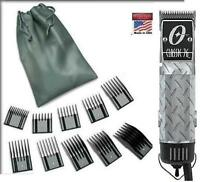 Oster Classic 76 Diamond Plate Limited Edition Hair Clipper + 10 PC Combs