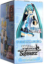 WEISS SCHWARZ Project DIVA f 2nd ENG EDITION BOX 20 PACKS SEALED NEW RARE