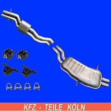 BMW E46 - 320 325 330 Agent + Muffler Exhaust System + Assembly Kit