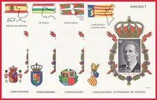 ESPAÑA SPAIN OCASIÓN PRUEBAS DE LUJO EDIFIL 37/56 AUTONOMÍAS (1995)** AUTONOMIAS