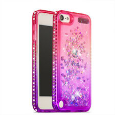 Shockproof Glitter Quicksand Bumper Cover Bling Case for Apple iPod Touch 5 / 6