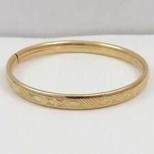 Vintage 1/20th 14K Gold Filled Baby Child Bangle Bracelet 5.2gr